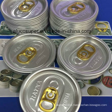 202 Aluminum Lids for Easy Open Cans for Food Juice Beer